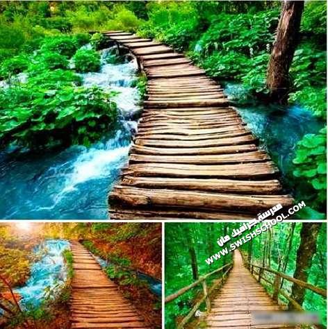 ستوكات جسور وطبيعه وشلالات