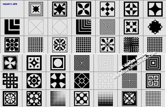 فرش منوعه للفوتوشوب - مجموعه كبيره من الفرش في رابط واحد