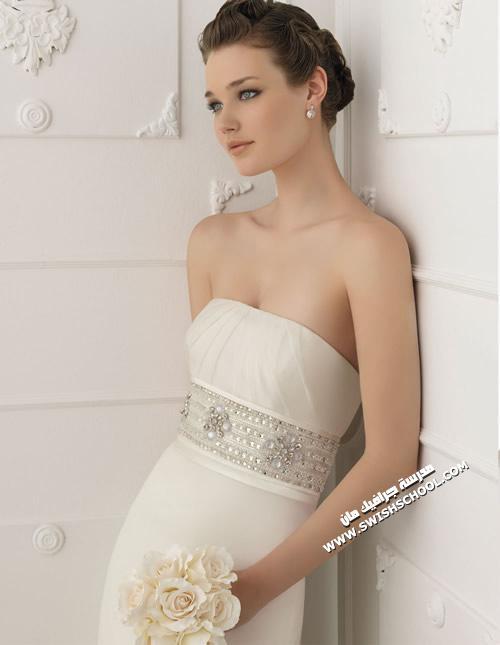 فساتين زفاف اسبانيه 2012