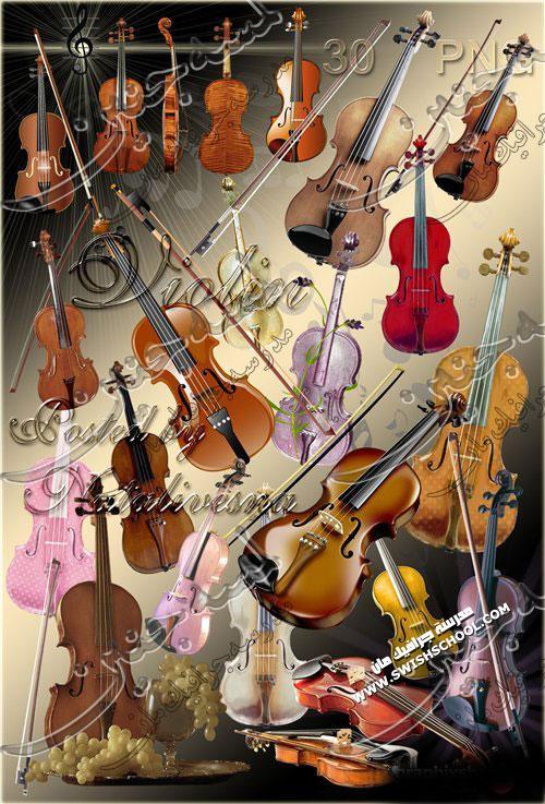 صور مقصوصه لاله الكمان