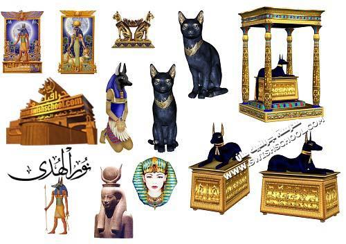 صور فرعونيه بخلفيه شفافه png - اكتر من 60 صوره