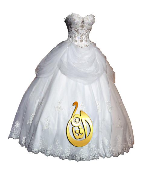 صور مفرغه فساتين زفاف وافراح وسهره للاستديوهات الجزء الثاني png