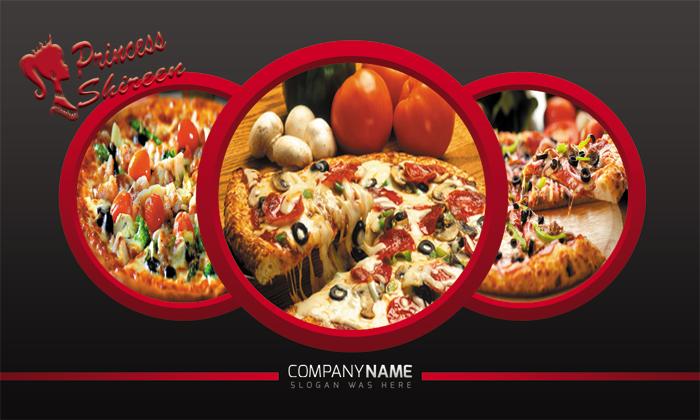 كارت بيزنس لمطعم بيتزا , كارت بيزنس psd card , cmyk , كروت بيزنس مفتوحة للدعايا والاعلان جديد 2015