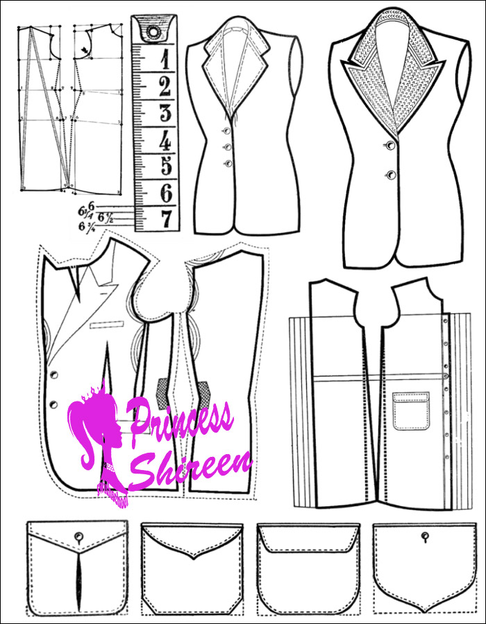 فرش باترونات ملابس احترافية لتصاميم مجلات الازياء ومراكز تعليم الخياطة جديد 2015