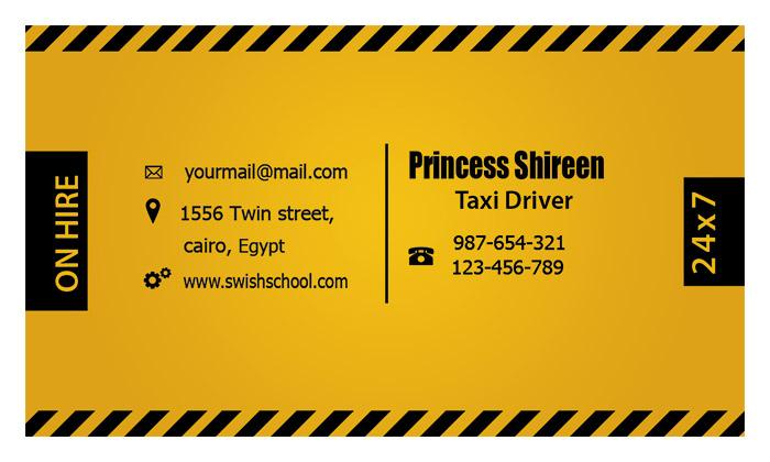 كارت شخصى لسائق تاكسى psd , كارت بيزنس psd card , cmyk , كروت بيزنس مفتوحة للدعاية والاعلان جديد 2015