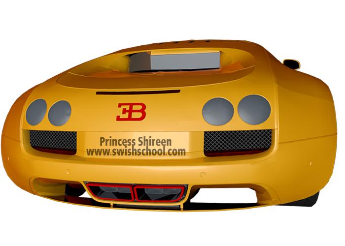 موديل سيارة سبور رائعه بالسينما فور دي cinema 4D مدرسة جرافيك مان