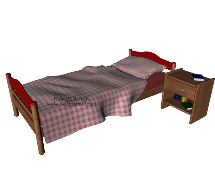 موديل سرير جديد للسينما فور دى مدرسة جرافيك مان