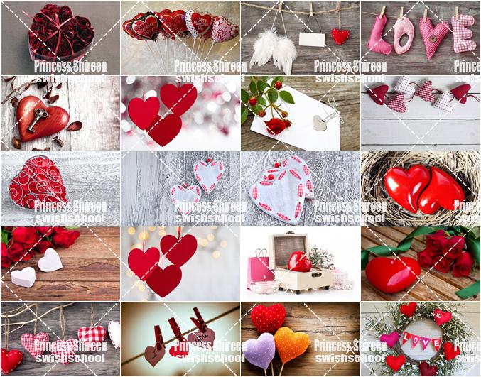 كولكشن خلفيات رومانسية للفالنتين , ستوك فوتو قلوب عالية الجودة لعيد الحب مدرسة جرافيك مان