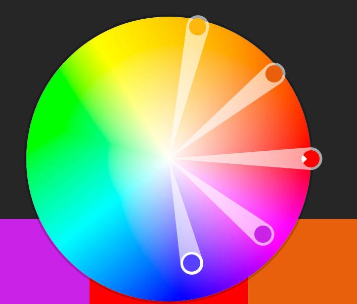 الألوان من الموقع الرسمي ل Adobe