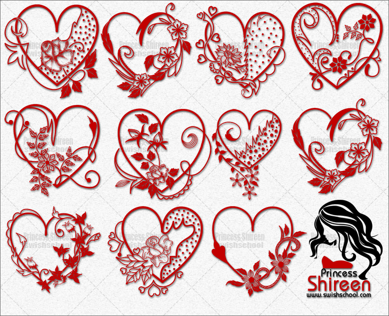 لأول مرة حقيبة المصمم للفلانتين من تجميع Princess Shireen حصرى على مدرسة جرافيك مان