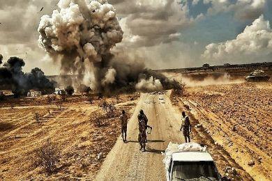 عاجل : القوات الخاصة المصريه تتدخل بريا و تأسر العشرات من داعش