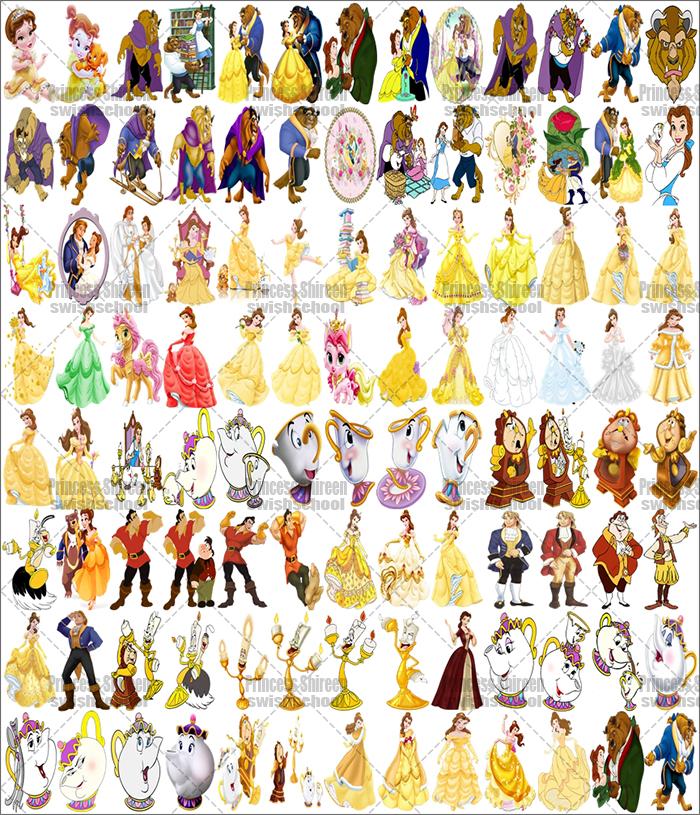 سكرابز شخصيات فيلم جميلة والوحش تجميع Princess Shireen , سكرابز أشهر الشخصيات الكرتونية العالمية جديد 2016