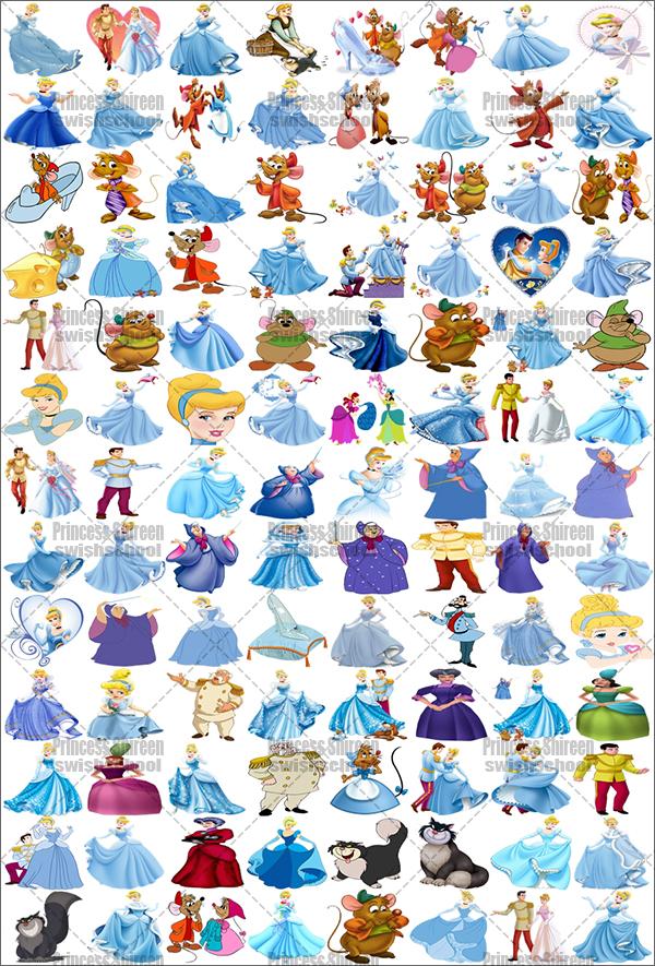 سكرابز شخصيات فيلم سندريلا تجميع Princess Shireen , سكرابز أشهر الشخصيات الكرتونية العالمية جديد 2016