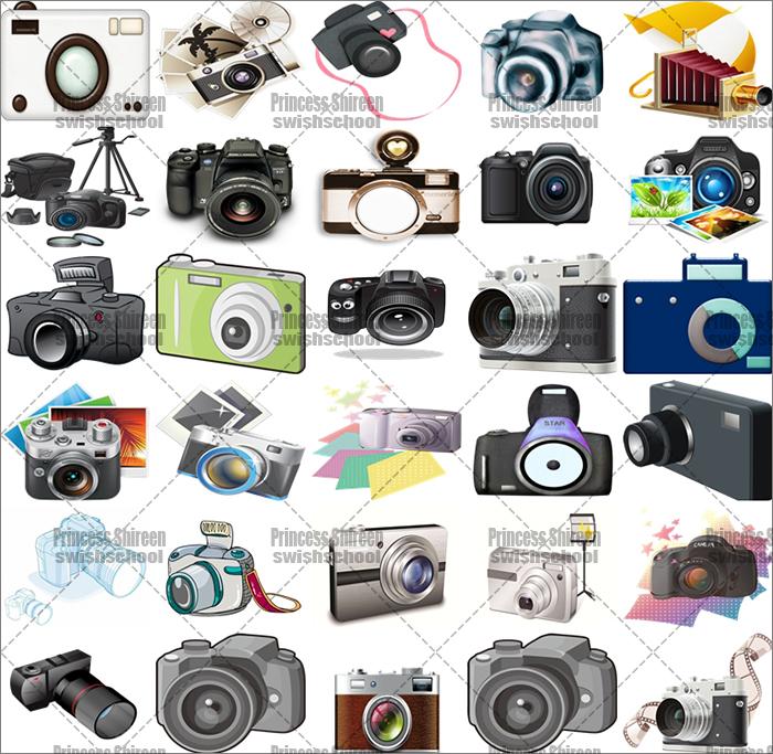 كولكشن سكرابز كاميرات png بدون خلفية , صور كاميرات مقصوصة مدرسة جرافيك مان