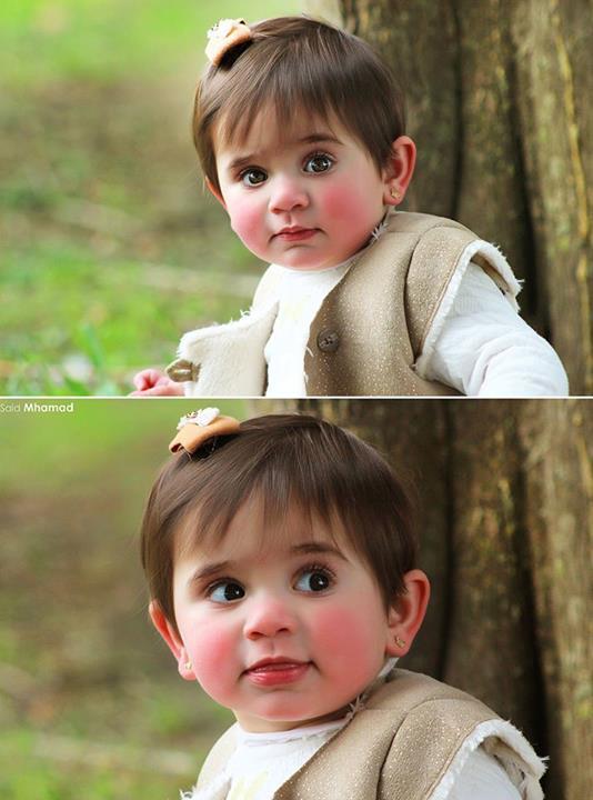 وضعيات تصوير الاطفال - تصوير خارجي - الجزء الاول