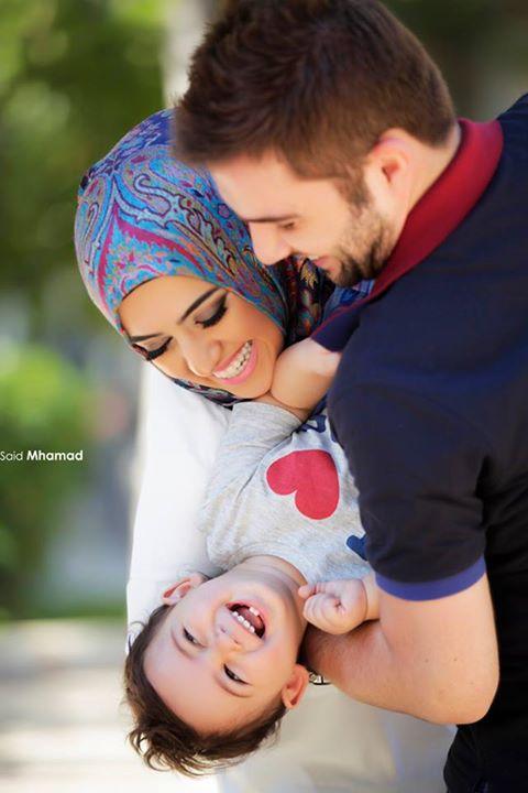 وضعيات تصوير العائله - الاب والام والاولاد - الجزء الثاني