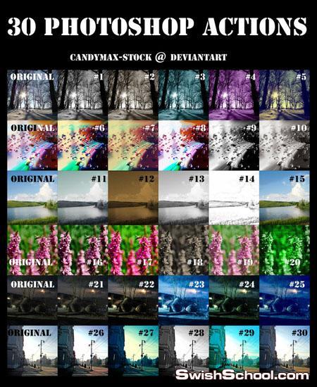 اكشن  عمل صور متشبعه بالالوان