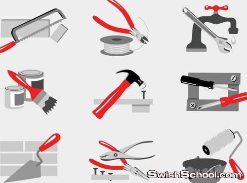 ادوات البناء والنجاره والاجهزه الكهربائيه , eps , ai