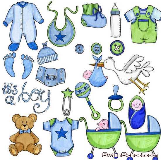 سكرابز اطفال اولاد وبنات , اولاد , بنات , ملابس , بيبي , مواليد جدد , كليب ارت