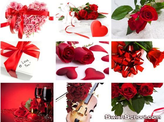 حلفيات الورد الاحمر والحب والرومانسيه , رومانسيه , ورد احمر , ورد جوري , فالنتاين داي , عيد الحب , خلفيات