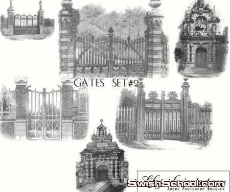 كوليكشن فرش البوابات والبيوت والقلاع والحصون الحجريه لتصاميم الفانتازيا