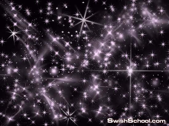 فرش نجوم صغيره لامعه رووووووعه , نجوم مضيئه , نجوم لامعه , لمعان , فرش مضيئه