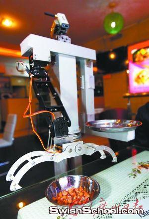 الروبوت الخادم