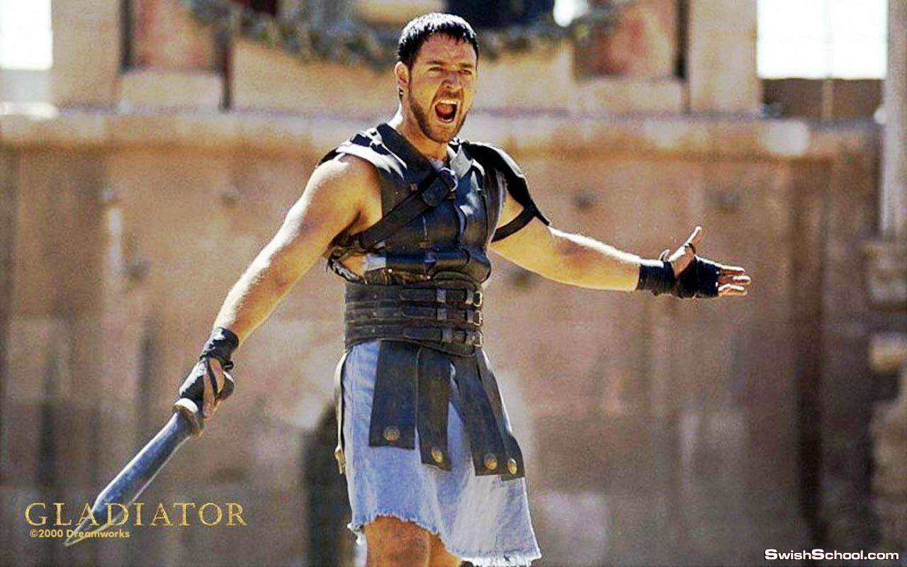 قالب gladiator
