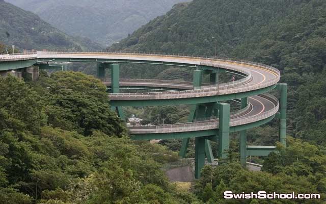 صور الجسر المعلق في اليابان