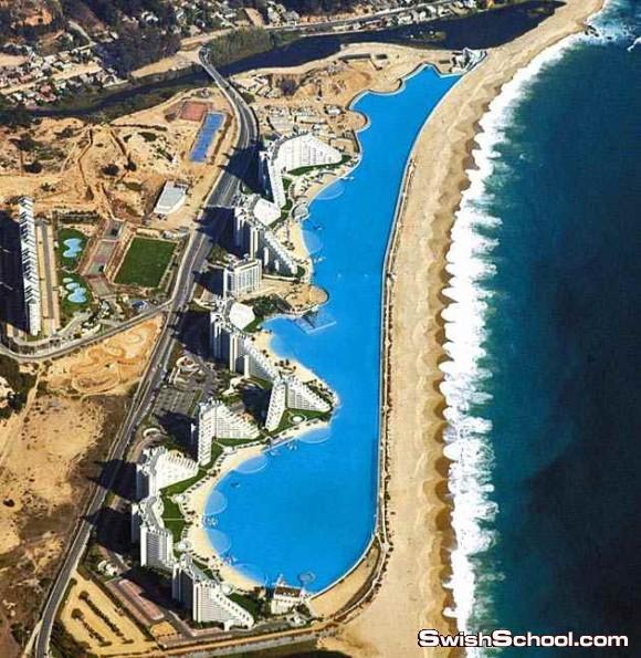 صور اكبر حوض سباحه في العالم
