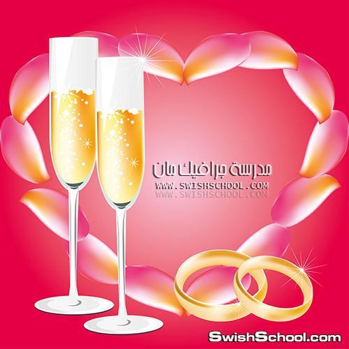 خلفيات زفاف فيكتور 2013, خلفيات لتصاميم المناسبات السعيده eps