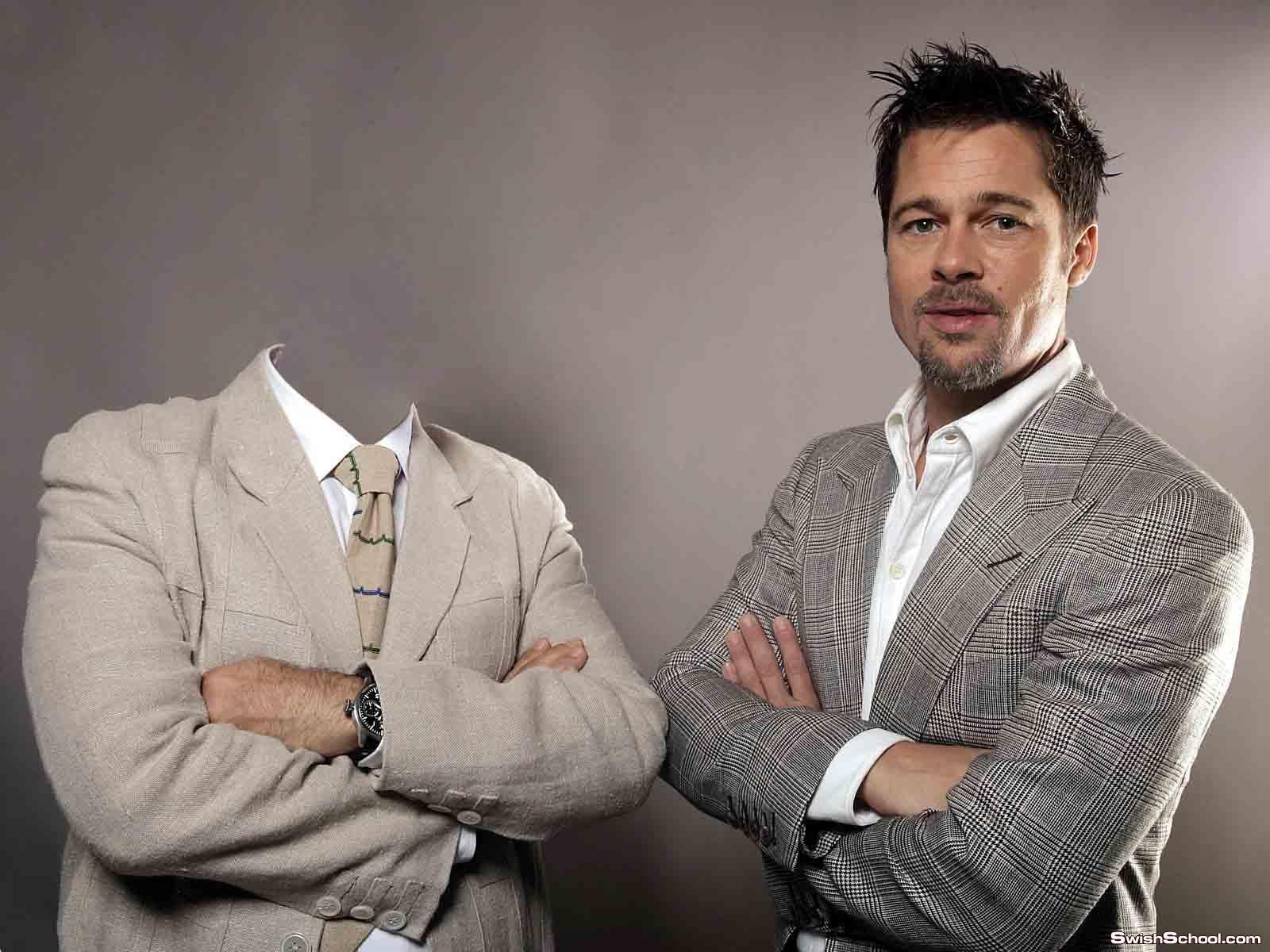 حصرى قالب فوق الرائع لراجل مع براد بيت Brad Pitt