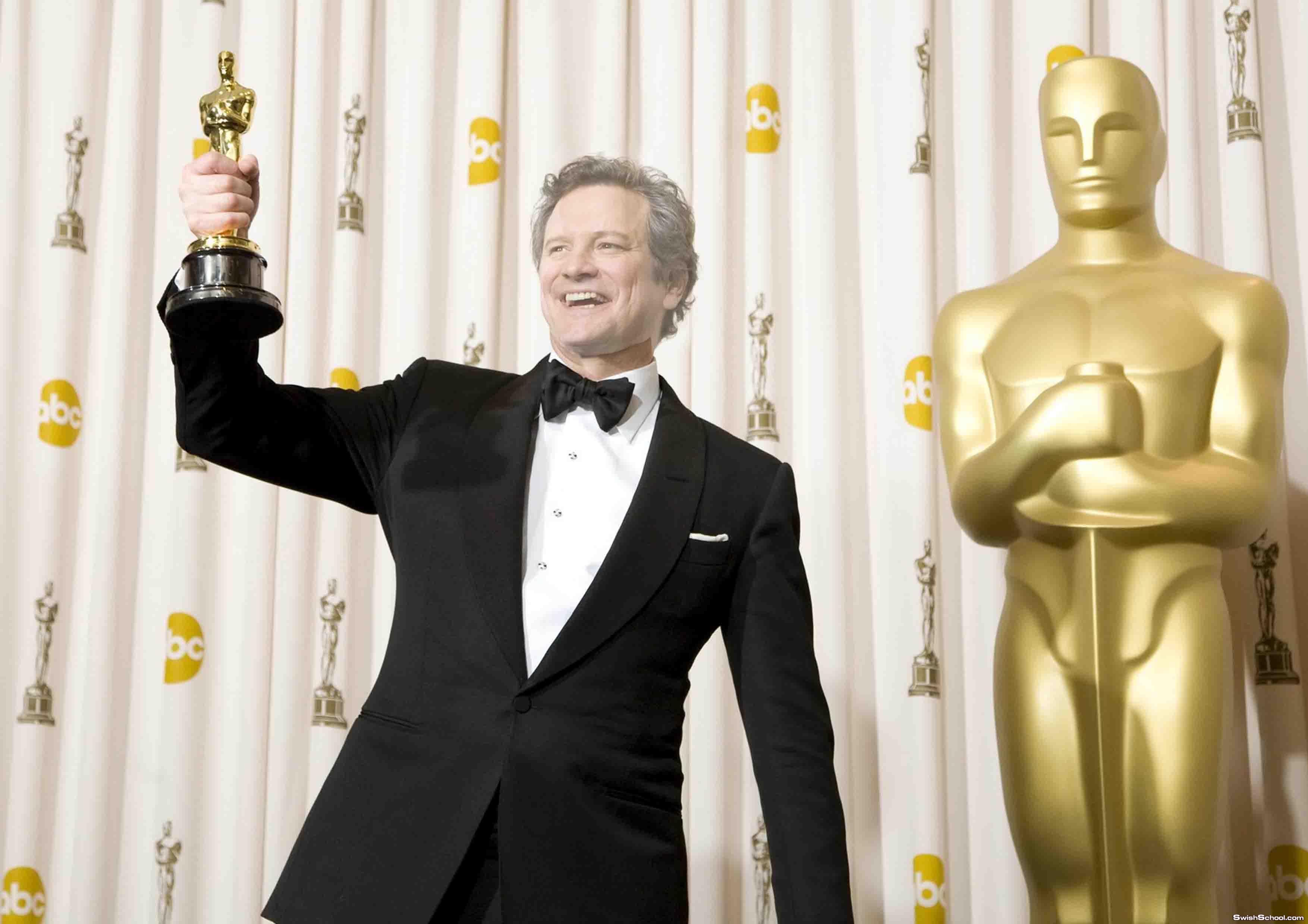 حصرى قالب لراجل ياخذ جائزة اوسكار Oscar