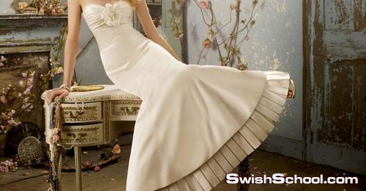 فساتين زفاف  - اشيك واحدث واجمل فساتين الافراح للعرايس
