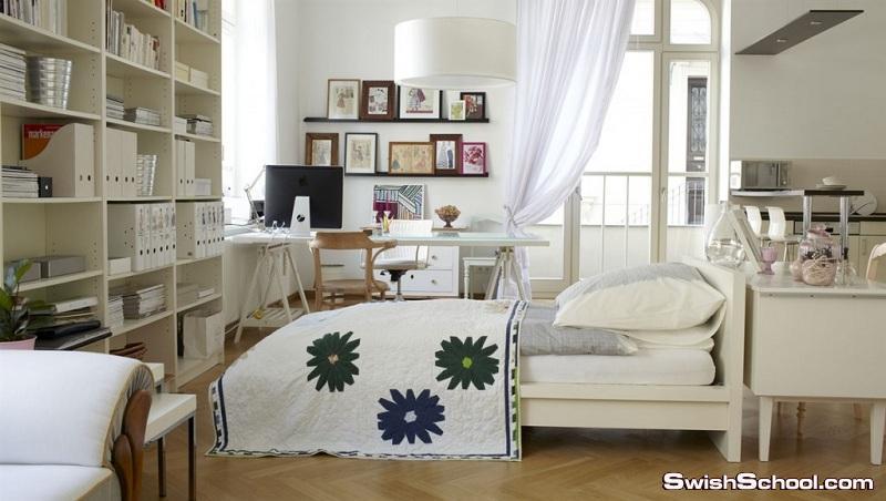 احدث غرف نوم للعرسان من إيكيا 2014