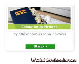 برنامج اختيار الوان الديكورات من جوتن colour advisor jotun