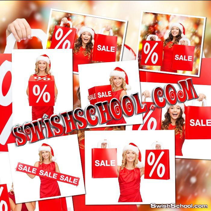 تحميل خلفيات بنات لعرض الاسعار في المحلات بمناسبه العام الجديد 2014
