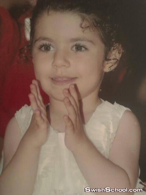 صور بيرين سات فى الرابعة من عمرها