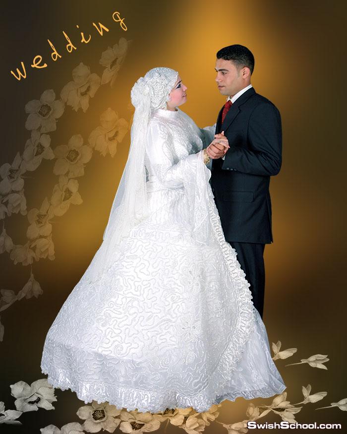 احدث خلفيات الزفاف المفتوحه للاستديوهات 2015 _ ملفات مفتوحة psd - خلفيات افراح ليلة العمر من تصميم هاجر