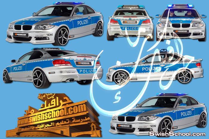 صور مقصوصه سيارات png  - سكرابز عربيات فرح وشرطه للتصميم 2014