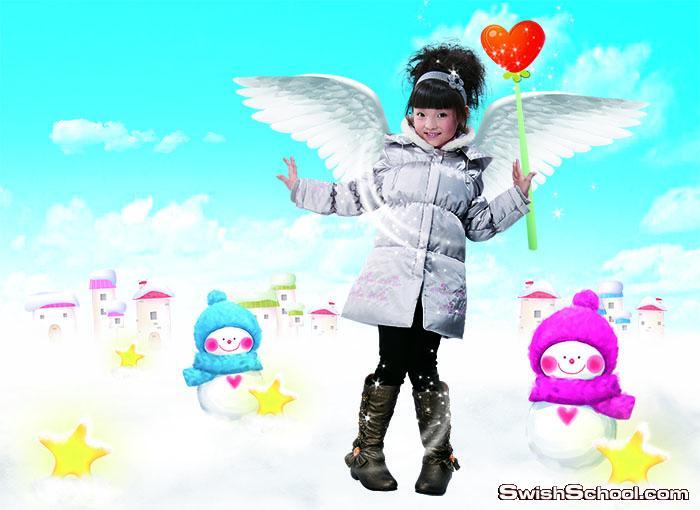 ملفات مفتوحة psd خلفات اطفال لاستوديوهات التصوير _ ملفات لتصاميم صور الاولاد والاطفال 2015_ الجزء الثاني