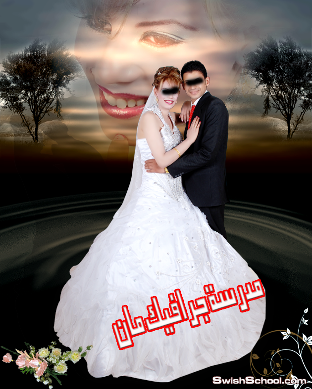 خلفيات زفاف لاصحاب استديوهات التصوير psd