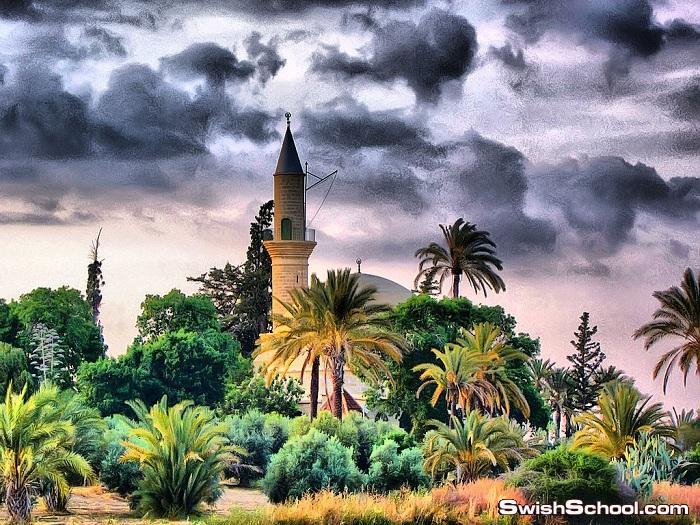 خلفيات جوامع بتاثير hdr - صور مساجد بتاثيرات ساحره للتصاميم الاسلاميه