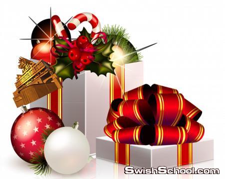 كولكشن سكرابز صناديق هدايا لتصاميم الكريسماس جديد 2014