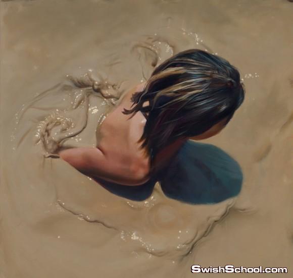 الابداع والفن لاحدود له ... لوحات فنيه مثل الحقيقه
