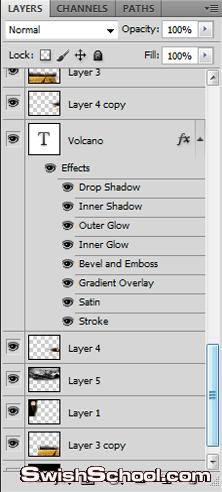 New design - Graphic man volcano