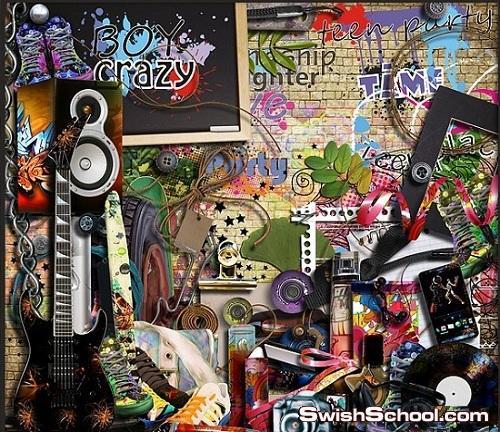 خلفيات جرافيتي - جرافيك للتصاميم الشبابيه 2013