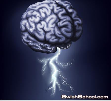 خلفيات جرافيك فيكتور مخ بشري للطلبه والمعلمين والاطباء eps