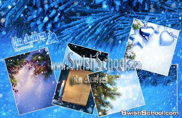 ستوك فوتو قمر وبحر وبنوته ملاك وجليد وثلج - خلفيات جرافيك 2013