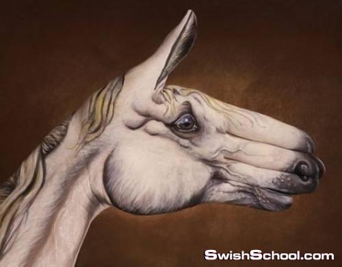 لوحات جميله مرسومه على اليدين